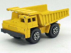 Vintage Matchbox FAUN DUMP TRUCK #58 Lesney  (AS IS) Superfast