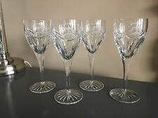 NWT Set of 4 Waterford Dolmen RYDER CUP/VALHALLA Stately Water Goblets