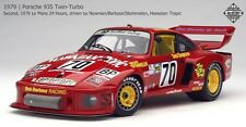 Exoto 1/18 #70 Hawaiian Tropic 1979 Porsche 935 Twin-Turbo Red RLG19100