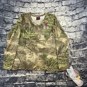 Scent Blocker Sola Womens Small Fused Cotton Long Sleeve T-Shirt Max1 Camo
