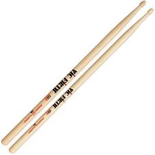 Vic Firth American Classic 5B Wood Tip Rock Band Drumsticks 12-Pairs Brick