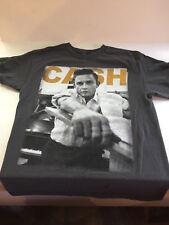 Johnny Cash (Adult Medium) Gray T-Shirt