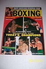 1969 The Ring ROCKY MARCIANO Memorial JOE FRAZIER vs BOB FOSTER Olivares RAMOS