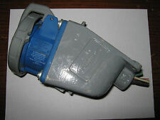 Hubbell Pin & Sleeve Watertight Receptacle And Base, 530R9W,  Used