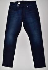 G-star Raw 3301 recto ajustado W36 L34 pantalones vaqueros de hombre