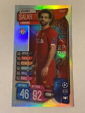 Match Attax 2019//20 Mohamed Salah de gran tamaño de tarjeta XL4 Como Nuevo