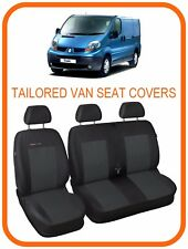 Tailored VAN seat covers for Renault Trafic  2001 - 2014  2 +1