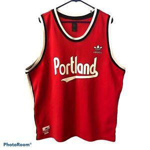 Adidas Portland Trail Blazers #32 Bill Walton Men's XXL Vintage