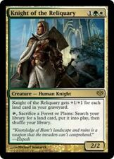 Conflux Knight of the Reliquary - Foil x1 Moderate Play, English Magic Mtg M:tG