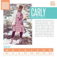 NEW LuLaRoe Mystery Carly Dress Sizes XXS XS SM MED LG XL 2XL NEW PRINTS ONLY