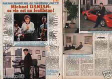 Coupure de presse Clipping 1990 Michael Damian  les Feux de l'Amour   (3 pages)