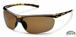 Suncloud Zephyr Polar Brown Polarized Lens Tortoise Frame Sunglasses