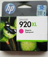 Genuine HP 920XL - Magenta Office jet Ink Cartridge Sealed Expired Feb 2016