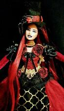Vampire Duchess ~Barbie doll OOAK vamp fangs blood night stalker goth gothic