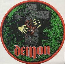 Demon - Night of the Demon Patch Saxon Samson Priest Maiden Angel Witch Tank
