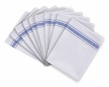 100% Cotton Catering Tea Towels Pack of 10 Kitchen Restaurant Bar Glass Cloths