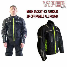 Summer Men Vented Textile Motorcycle Jackets