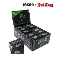 Caja papel de fumar OCB premium slim rolls, 24 rollos, 4 metros