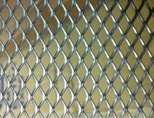 Lamiera Inox 304 Forata Stirata x stufe radiatori cm 50x100 maglia mm 6x3,5