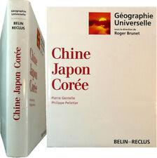 Géographie universelle Chine Japon Corée 1994 Gentelle Pelletier Belin-Reclus