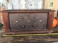Vintage Spartan Tube Radio Model 5-15 Wood Case Stunning Decor