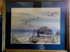 Olszewski, K. E print Over Land and Sea framed