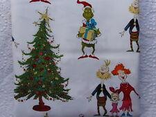 NEW & HTF Robert Kaufman HOW THE GRINCH STOLE CHRISTMAS *100% Cotton FQ*