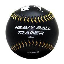 Franklin Mlb Heavy Ball Trainer Weighted Baseball Black 10oz for Train_Au