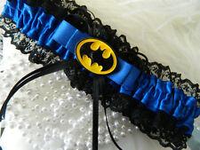 WEDDING GARTER BLUE - BATMAN GARTER