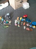 Fisher price little people bundle with some random figures.