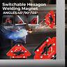 Mini Switchable Arrow Welding Magnet Magnetic Welder Holder 45°/90°/135° 80kg