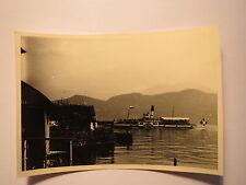 Weggis mit Schiff Unterwalden Raddampfer auf dem See / Foto
