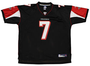 Reebok Atlanta Falcons Michael Vick #7 NFL Men's Replica Jersey, Black