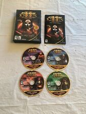 Star Wars Knights of the Old Republic II : The Sith Lords 4 Disc Game