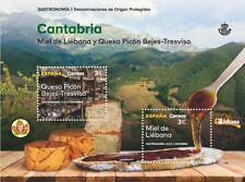 FR3648 - 2019 Spagna Cantabria - Miele e Formaggio unusual con vernice 3D applic