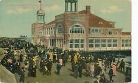 ATLANTIC CITY NJ – Steel Pier Entrance and Boardwalk