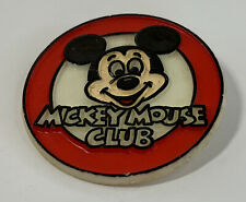 More details for vintage disney mickey mouse club advertising badge