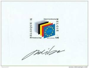 [279] NA10-FR, présidence Belge - superbe. Cote : 12 €