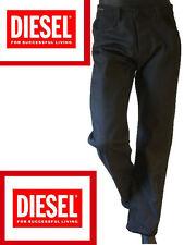 DIESEL Indigo tech ITALY Jean pant 32 black white denim logo button fly DIT