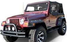 Smittybilt Full Set of Front & Rear Extended Fenders 97-06 Jeep Wrangler TJ LJ