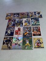 *****Isaac Bruce*****  Lot of 65 cards.....49 DIFFERENT / Football