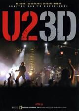 U2 3D Movie POSTER 27x40 Japanese Bono