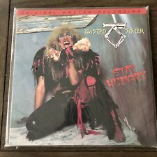 Twisted Sister Stay Hungry LP 180 Audiophile Grams Vinyl Us-pressung MOFI