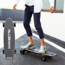90mm Cool Electric Longboard 800W Dual Hub Motorized Skateboard 4 Wheels Board