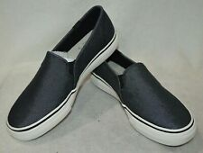 f07984a94d4 Keds Women s Double Decker Shimmer Black Slip On Shoes-Assorted Size NWB  WF59047