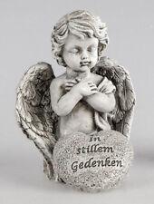 """Formano Engel kniend """"In stillem Gedenken"""" ca.10,5 cm hoch Kunststein 713360 A ♥"""