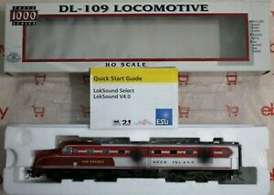 Proto 1000 Series HO Scale DL-109 30571ROCK ISLAND #623 ESU SOUND Original Box