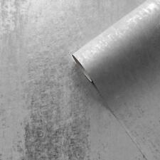SIENNA OMBRE WALLPAPER SILVER GREY - MURIVA 701590 METALLIC NEW