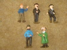 Tintin Plastic Figures - 1972 Editions Lombard - individual purchase