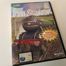 MICROSOFT 'TRAIN SIMULATOR' PC CD GAME VGC